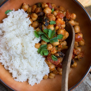 """DEVILED CHICKPEAS"" – PIKANT GEWÜRZTES KICHERERBSEN-CURRY"