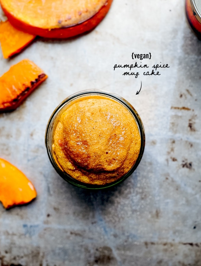 Pumpkin Spice Mug Cake – Saftiges Kürbisküchlein aus dem Glas