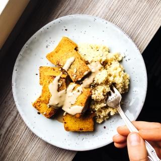 Tofu Reloaded: Kichererbsen-Tofu selber machen (Grundrezept)