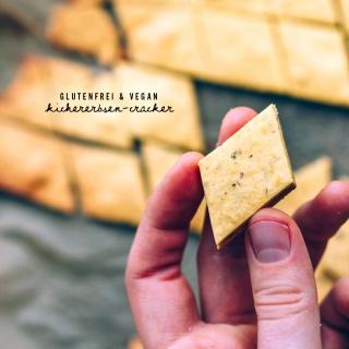 Grundrezept: Kichererbsen-Cracker (glutenfrei & vegan)