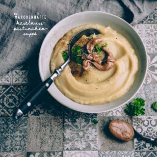 Märchenhafte Haselnuss-Pastinaken-Suppe