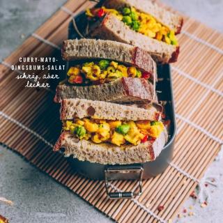 Curry-Mayo-Dingsbums-Salat (oder so ähnlich…) – Schräg, aber lecker!