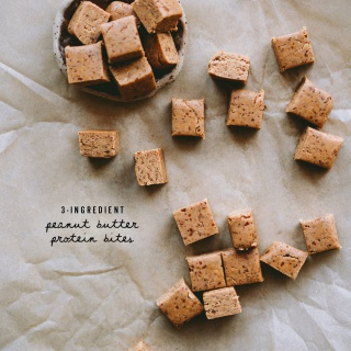 Peanut Butter Protein Bites (3-Ingredient)