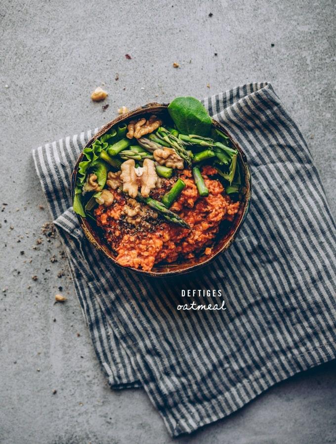 Deftiges Oatmeal – Der Frühstücks-Klassiker mal anders (Grundrezept)